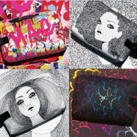 ONLINE EXCLUSIVE: MAC illustrated bags 2013